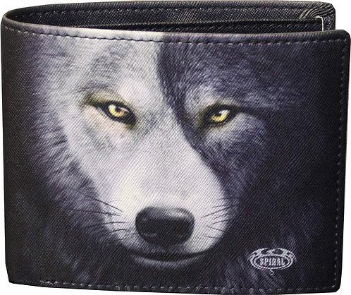 Wolf Chi Geldbörse (Schwarz)