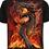 Thumbnail: Kinder-T-Shirt Kurzarm Feuerdrache