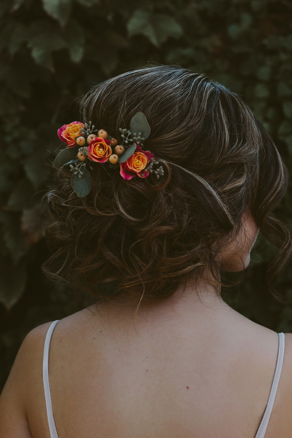 Hairpiece by Pearson's Florist