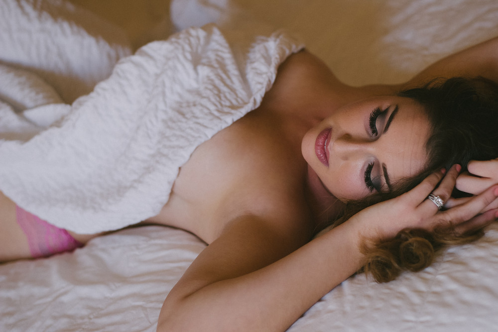 Photo from my first boudoir shoot!