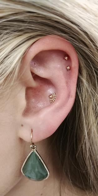 14ktgold cartilagepiercing bostontattooc