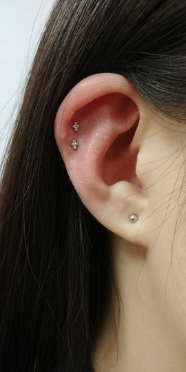 14ktgoldearrings cartilagepiercings bost