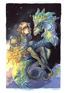 Link and Dragon