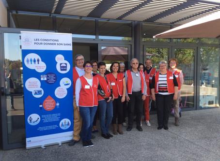 Nouveau succès pour le don de sang à Ruaudin le 28 juin mais pénurie nationale