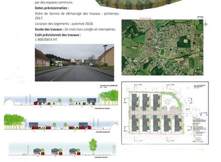 Nouveau lotissement des Tilleuls Sarthe Habitat : c'est parti