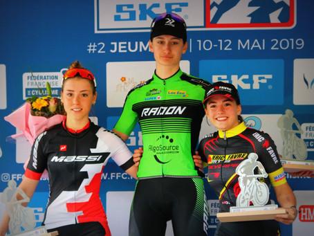 Noémie Garnier: belle victoire en coupe de France ce week-end
