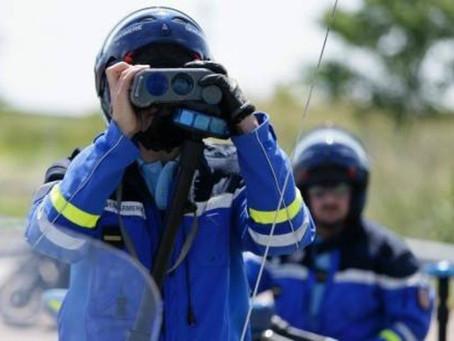 Contrôles de vitesse annoncés par la gendarmerie de la Sarthe