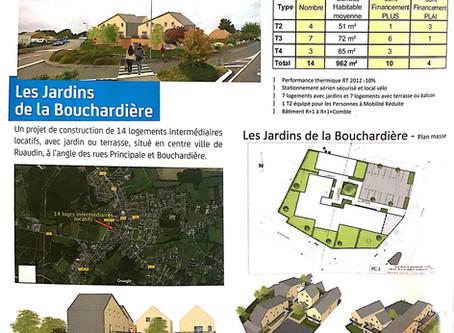 Jardins de la Bouchardière : les travaux ont commencé