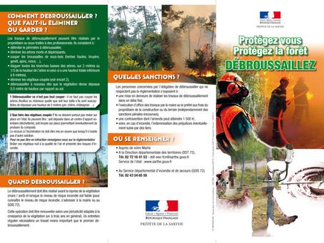 Campagne de la préfecture de la Sarthe