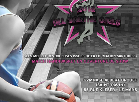 Basket : retrouvez les ruaudinoises au All Sarthe Girls