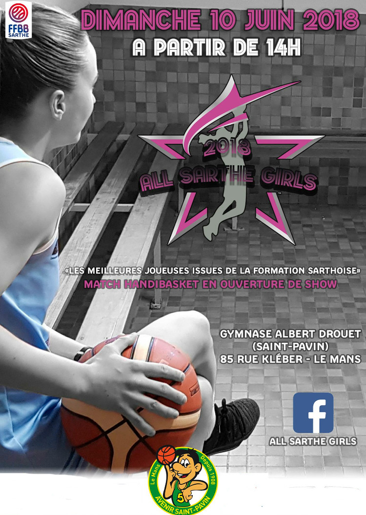 ALL SARTHE GIRLS BASKET EVENENEMENT