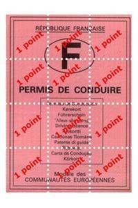 Consulter votre solde de points sur votre permis de conduire