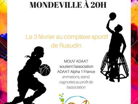 Basket : 2 matchs à l'afficheà Ruaudin