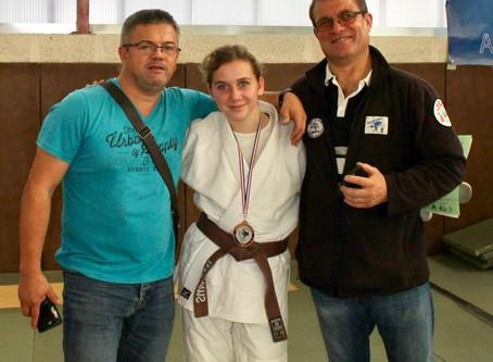 Bon départ pour le judo ruaudinois avec Swann