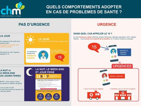 Les urgences : à consulter avec modération
