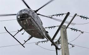 Survol d'unhélicoptère surRuaudin entre le 22 mai et le 2 juin : pas de panique