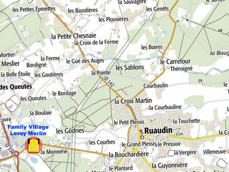 Les gilets jaunes autour de RUAUDIN et visite de Christelle Morançais.