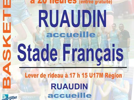 Ruaudin acceuille le Stade Français