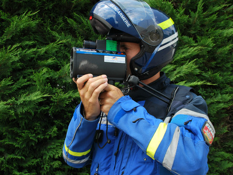 Contrôles de vitesses annoncées par la gendarmerie de la Sarthe