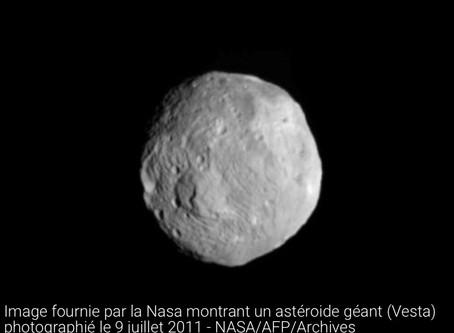 Aucun danger lors du passage d'un astéroïde mercredi
