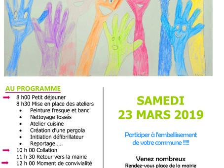 Ruaudin : Programme de la 3ème journée citoyenne