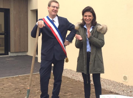 Inaugurations : salle polyvalente, gymnase, bâtiments communaux