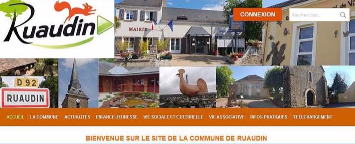 site internet Ruaudin.fr