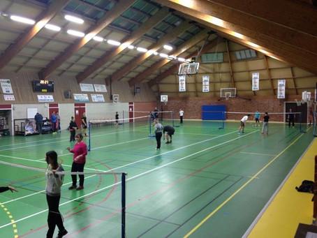 Tournoi de badminton libre au profit du Téléthon