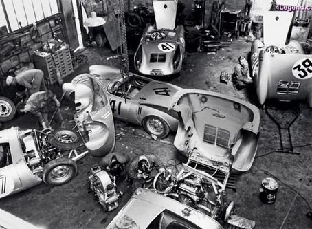 La légende Porsche débute à Téloché