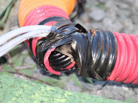 Danger de risques électriques sur la nouvelle salle de tennis de Ruaudin?