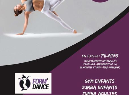 Form'Dance :nouveau sur Ruaudin