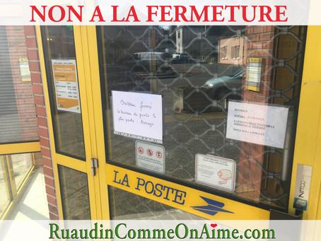 Pétition contre la fermeture de la Poste de Ruaudin