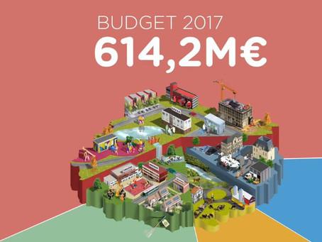 """Vidéo d'un vote du budget """"très détaillé"""" par le conseil départemental 2017"""