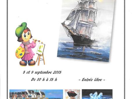 Une artiste ruaudinoise en expo à Savigné les 8 et 9 septembre