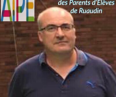 Association de parents d'élèves de Ruaudin :Nouveau président