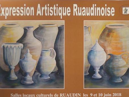 Expression Artistique Ruaudinoise : 17 années d'oeuvres exposées