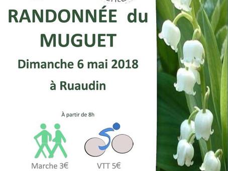 Randonnée du Muguet 8 mai : inscriptions ouvertes