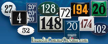Nouvelle numérotation de certaines rues de Ruaudin