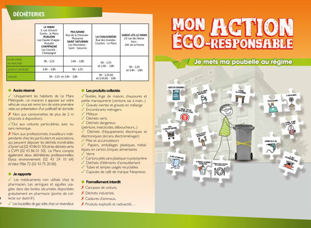 Guide du tri sélectif et calendrier 2018