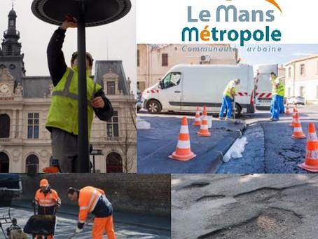 Déclarerune anomalie sur Ruaudinà Le Mans Métropole