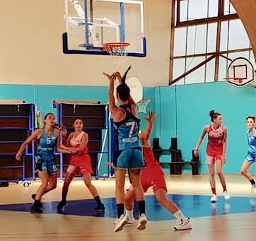 Première victoire deRuaudin vs Murs Erigné en match amical de basket NF2