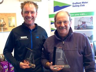 Paul Larsen and Bob Fletcher TT Fleet Champions 2016