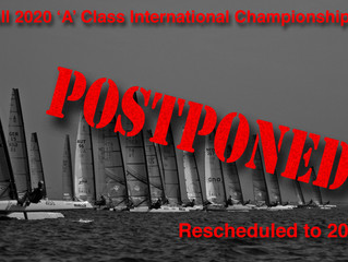All international events postponed.