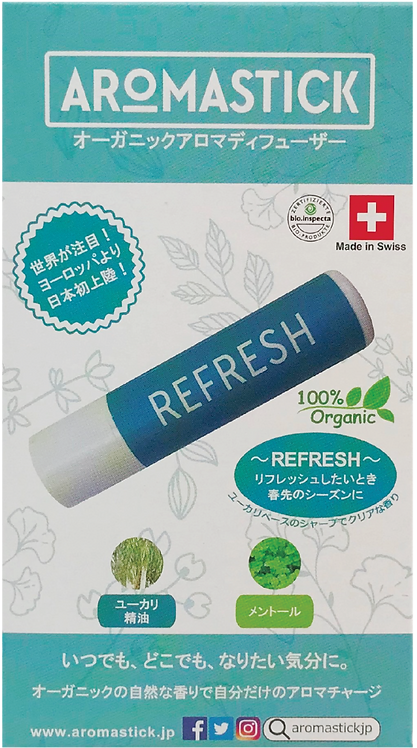 Aromastick (アロマスティック)  Refresh (リフレッシュ)