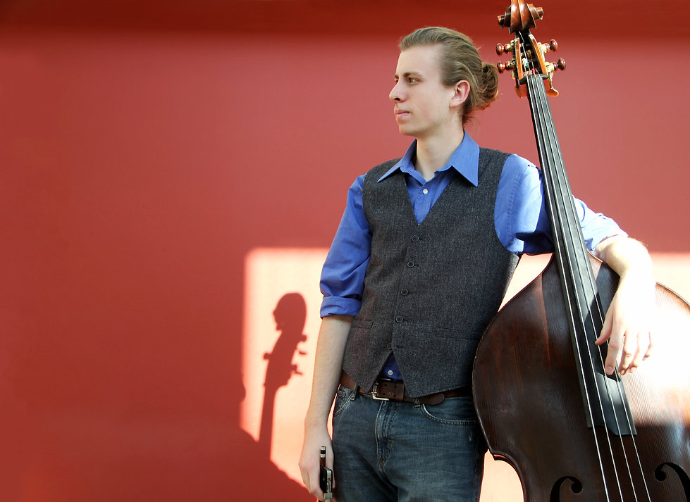 Jacob Warren, Bass, Double Bass, Musician, Ann Arbor, Michigan, Multi-style