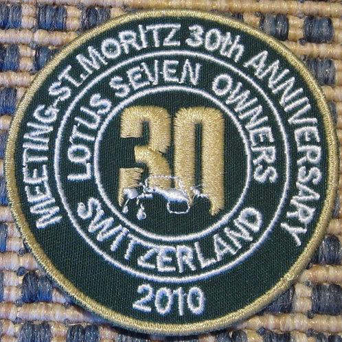 Batch Stoff 30 Jahre St. Moritz