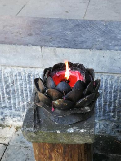 Šventa ugnelė smilkalui uždegti