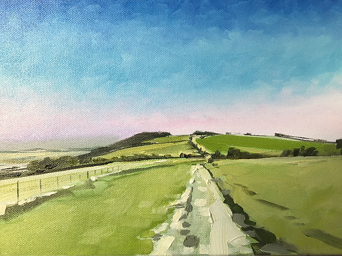 South downs way ( sketch )