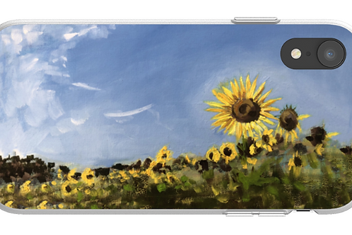 'Sunflower Sketch' Flexi style phone case