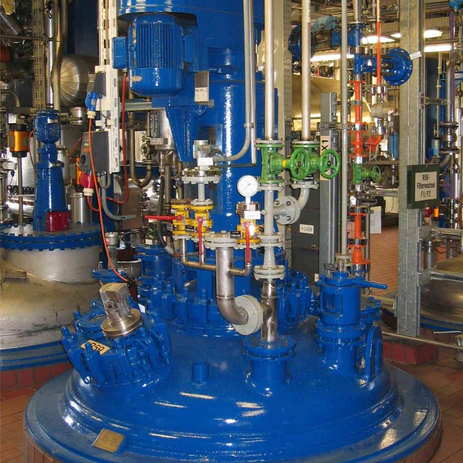 Chemische Industrieanlagen